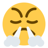 Face with Steam From Nose on Twitter Twemoji 1.0
