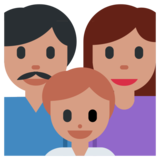 Family on Twitter Twemoji 1.0