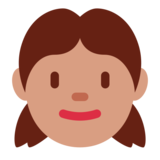 Girl on Twitter Twemoji 1.0