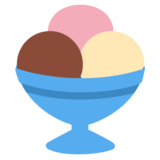 Ice Cream on Twitter Twemoji 1.0