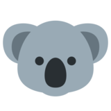 Koala on Twitter Twemoji 1.0