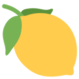 Lemon on Twitter Twemoji 1.0