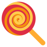 Lollipop on Twitter Twemoji 1.0