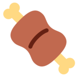 Meat on Bone on Twitter Twemoji 1.0