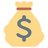 Money Bag on Twitter Twemoji 1.0