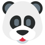 Panda on Twitter Twemoji 1.0