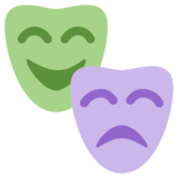 Performing Arts on Twitter Twemoji 1.0