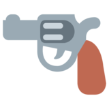 Pistol on Twitter Twemoji 1.0