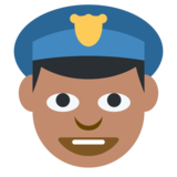 Police Officer on Twitter Twemoji 1.0