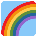 Rainbow on Twitter Twemoji 1.0