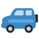 Sport Utility Vehicle on Twitter Twemoji 1.0