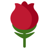 Rose on Twitter Twemoji 1.0
