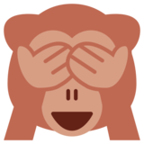 See-No-Evil Monkey on Twitter Twemoji 1.0