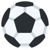 Soccer Ball on Twitter Twemoji 1.0