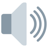 Speaker High Volume on Twitter Twemoji 1.0
