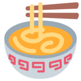 Steaming Bowl on Twitter Twemoji 1.0