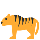 Tiger on Twitter Twemoji 1.0