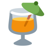 Tropical Drink on Twitter Twemoji 1.0