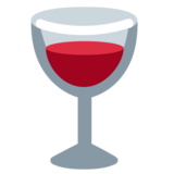 Wine Glass on Twitter Twemoji 1.0