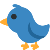 Bird on Twitter Twemoji 2.0