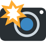 Camera With Flash on Twitter Twemoji 2.0