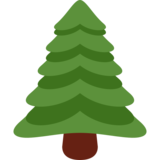 Evergreen Tree on Twitter Twemoji 2.0