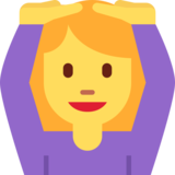 Person Gesturing OK on Twitter Twemoji 2.0