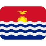 Flag: Kiribati on Twitter Twemoji 2.0