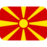 Flag: North Macedonia on Twitter Twemoji 2.0