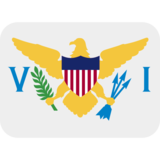 Flag: U.S. Virgin Islands on Twitter Twemoji 2.0