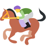 Horse Racing on Twitter Twemoji 2.0