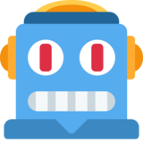 Robot on Twitter Twemoji 2.0