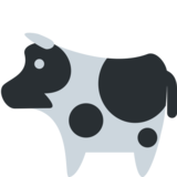 Cow on Twitter Twemoji 2.1
