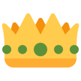 Crown on Twitter Twemoji 2.1
