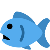 Fish on Twitter Twemoji 2.1
