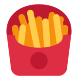French Fries on Twitter Twemoji 2.1
