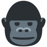 Gorilla on Twitter Twemoji 2.1
