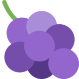 Grapes on Twitter Twemoji 2.1