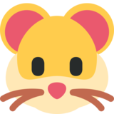 Hamster Face on Twitter Twemoji 2.1