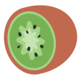 Kiwi Fruit on Twitter Twemoji 2.1