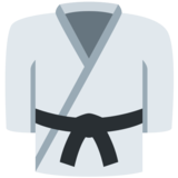 Martial Arts Uniform on Twitter Twemoji 2.1