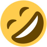 Rolling on the Floor Laughing on Twitter Twemoji 2.1