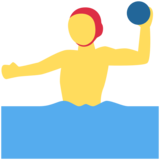 Person Playing Water Polo on Twitter Twemoji 2.1