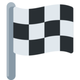 Chequered Flag on Twitter Twemoji 2.1.2