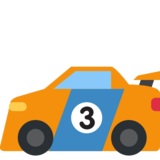 Racing Car on Twitter Twemoji 2.1.2