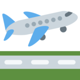 Airplane Departure on Twitter Twemoji 2.2