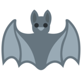 Bat on Twitter Twemoji 2.2