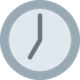 Seven O'Clock on Twitter Twemoji 2.2