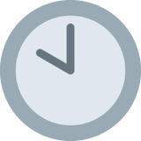 Ten O'Clock on Twitter Twemoji 2.2