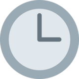 Three O'Clock on Twitter Twemoji 2.2